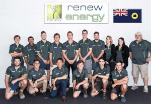 renew energy team photo perth solar