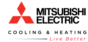 mitsubishi electric air conditioning heating cooling systems logo