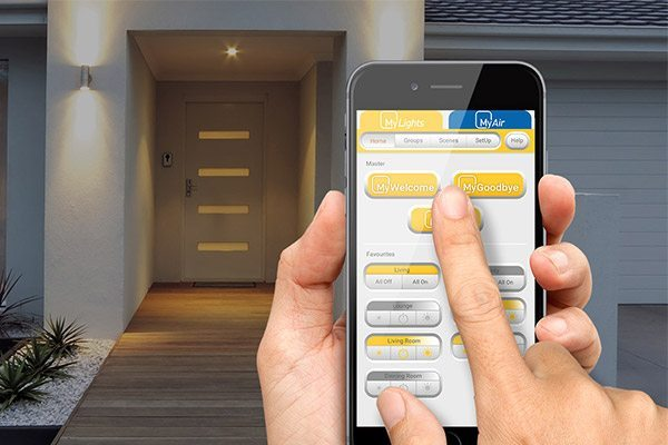 led smart lighting system app mylights advantage air